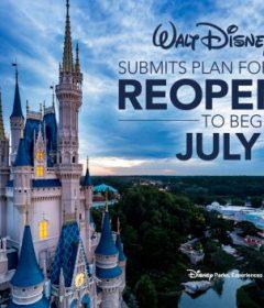 Disney Parks Reopening